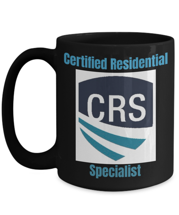 New-CRS-CRS Shield with Blue-Black Mug-15 oz