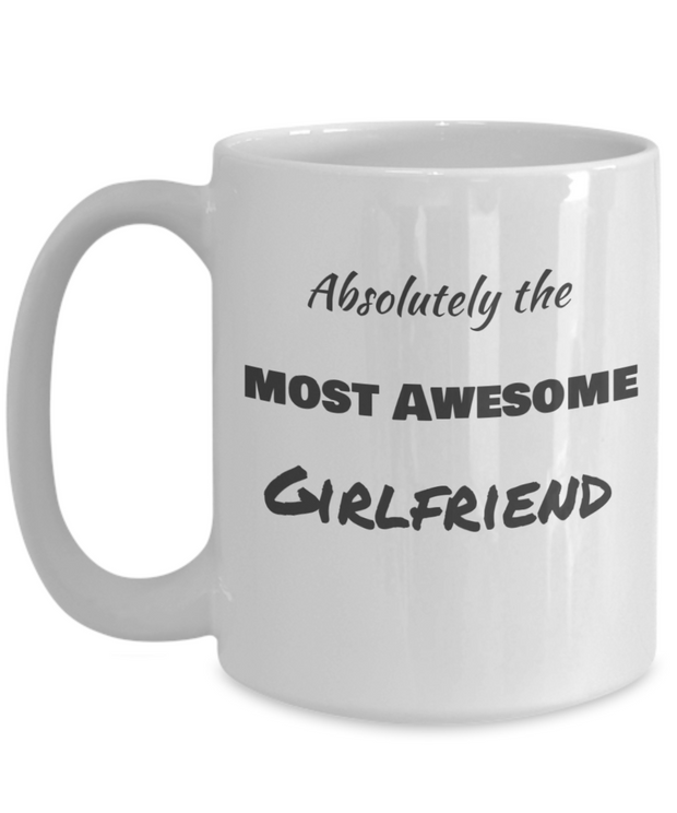 Absolutely The Most Awesome Girfriend-2nd edition-Plain BW Text