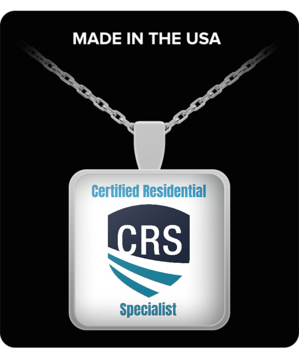 NEW CRS - Pendant Necklace -22 inch chain - Silver