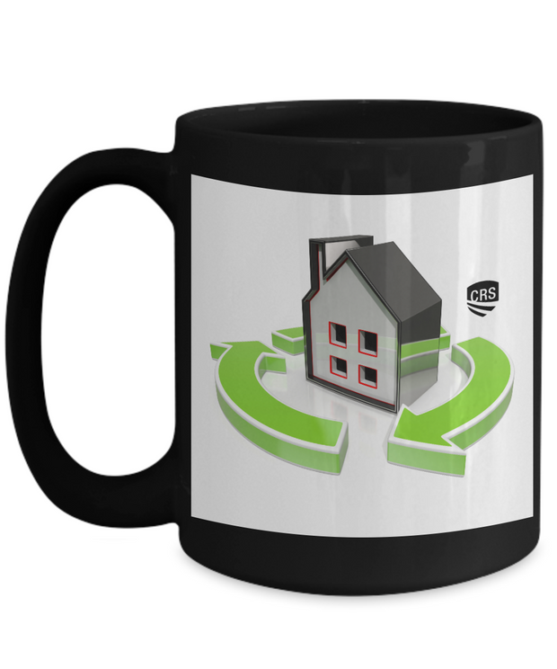 Black CRS Mug - New Shield - House