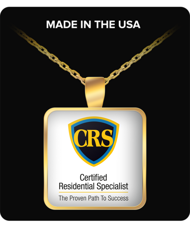 CRS - Gold Plated Necklace - Standard Logo