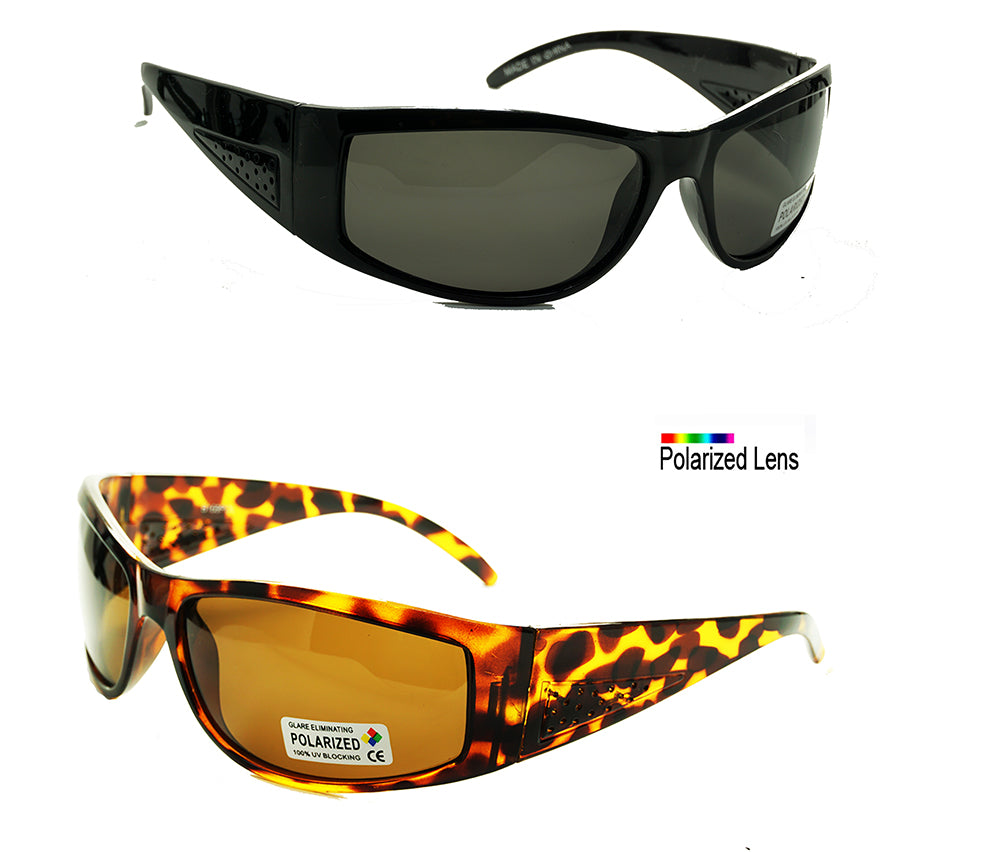 Wholesale Polarized Plastic Sports Sunglasses -LA_B169POL - wholesalesunglasses.net