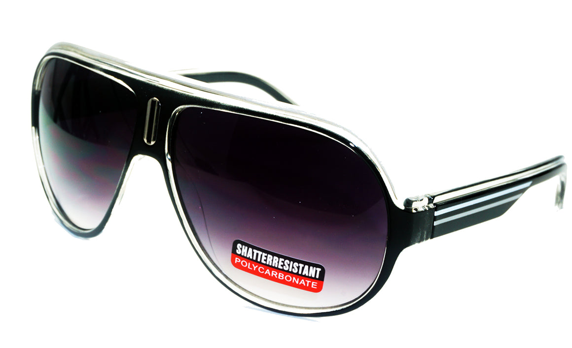 Classic Shatterproof Wholesale Sunglasses#D425PCGR - wholesalesunglasses.net