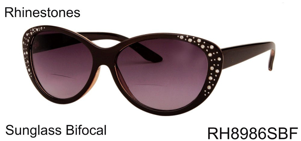 Bifocal Reading Sunglasses wholesale # RH8986SBF - wholesalesunglasses.net