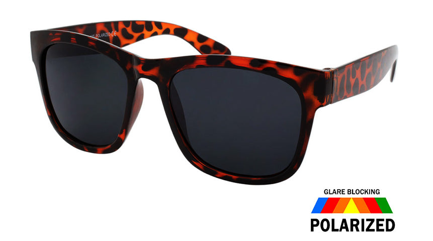 Wholesale  Polycarbonate Polarized Square Sunglasses Unisex Bulk - wholesalesunglasses.net