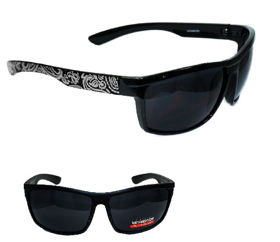 Dark   Bandana Sunglasses ( No Logo) - wholesalesunglasses.net
