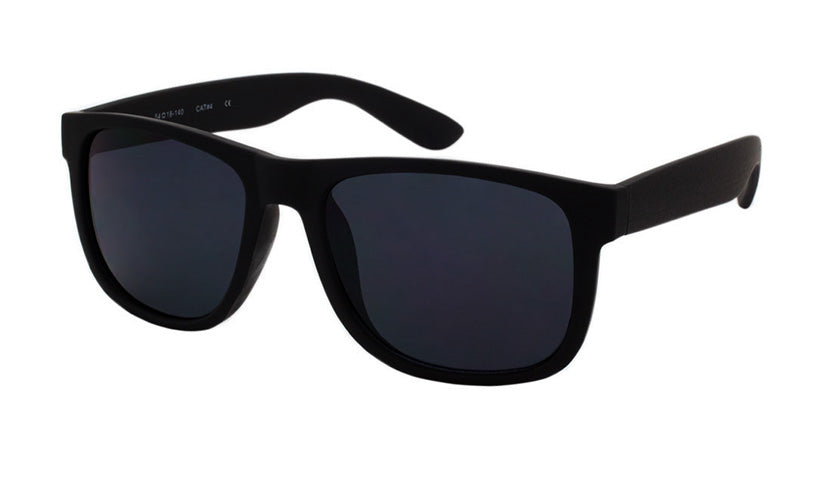 Wholesale  Dark Lens Classic Sunglasses  Soft Feel unisex - wholesalesunglasses.net