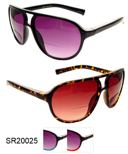 Bifocal Sun Readers  Sunglasses wholesale # SR20025 - wholesalesunglasses.net