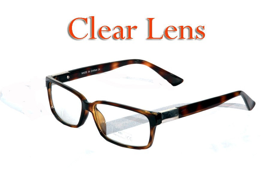 Clear Lens Fashion Sunglasses # 9963-CLR - wholesalesunglasses.net