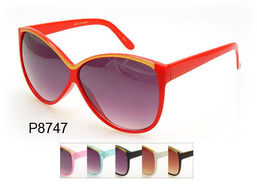 Fashion Retro women Sunglasses-P8747 - wholesalesunglasses.net