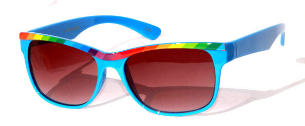 Fashion Women Sunglasses -P8823RAINB - wholesalesunglasses.net