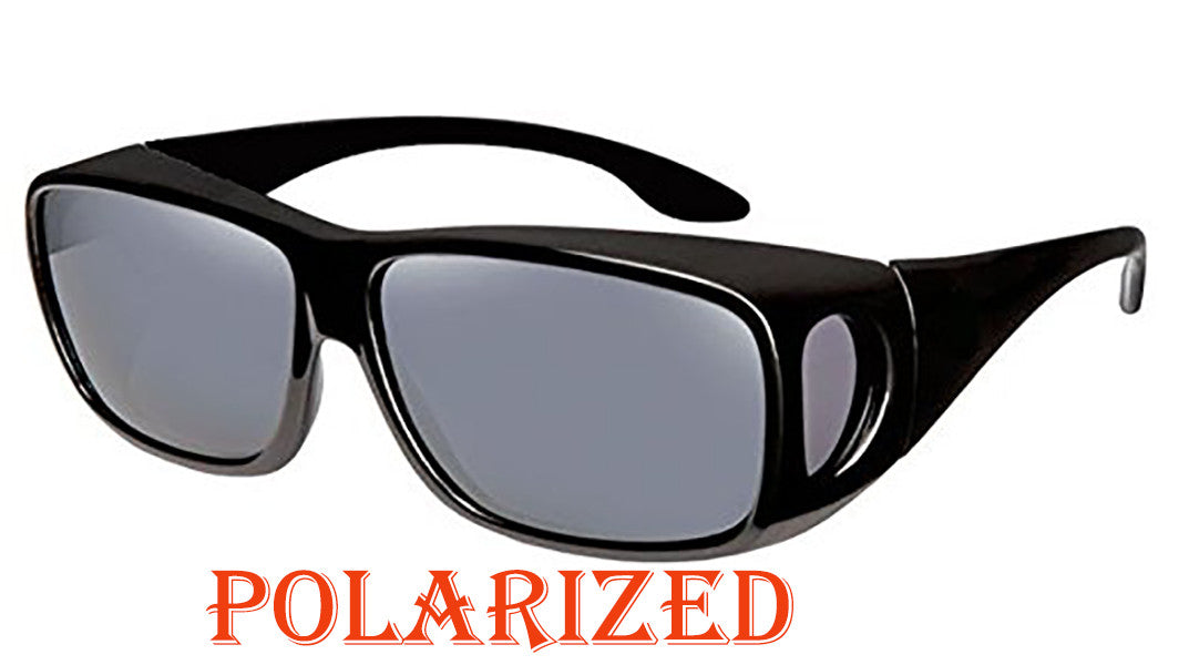 Large Polarized Cover Over Sunglasses C410RPL - wholesalesunglasses.net