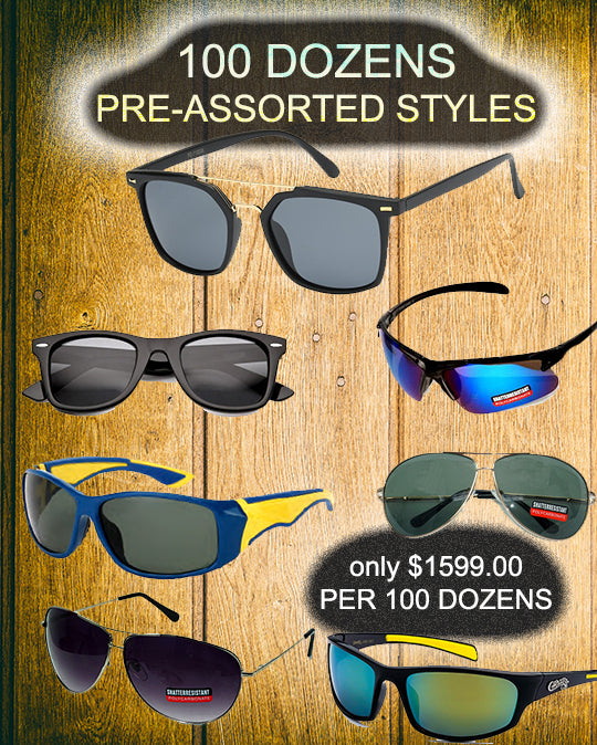 package deal-100 dozens - wholesalesunglasses.net