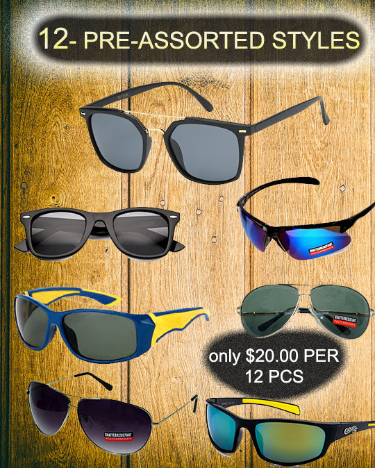 package deal-12 pcs - wholesalesunglasses.net