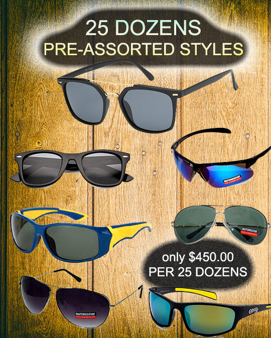 package deal-25 dozens - wholesalesunglasses.net