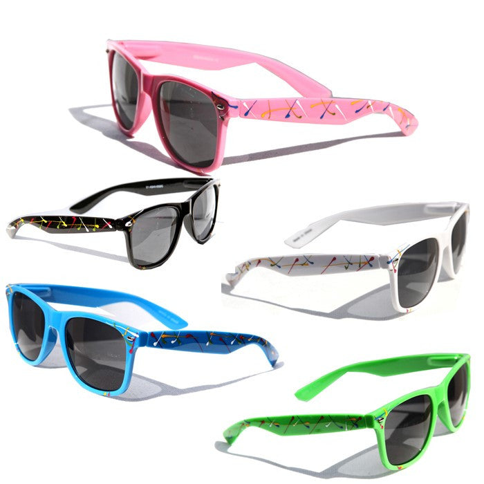 paint splatter Classic sunglasses # 33-042A-13 - wholesalesunglasses.net