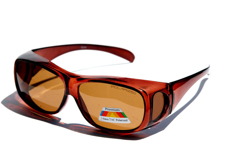 Premium Cover Over Polarized Sunglasses ( Medium Frame )C410PPL - wholesalesunglasses.net