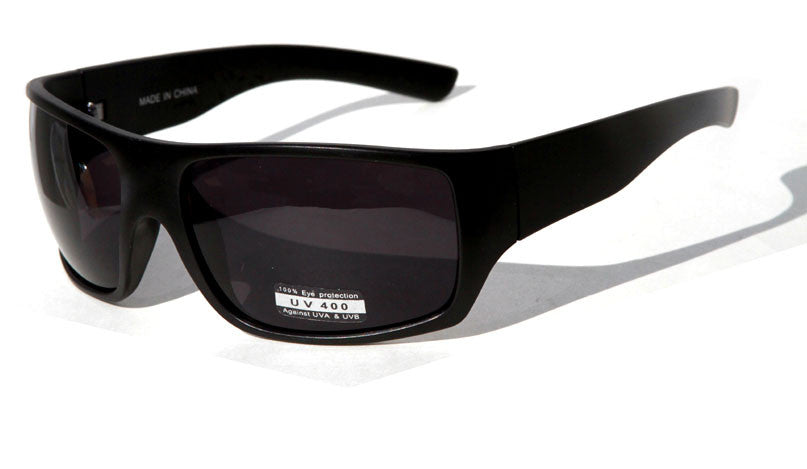 Sports Sunglasses ( All Black)SF9921 - wholesalesunglasses.net