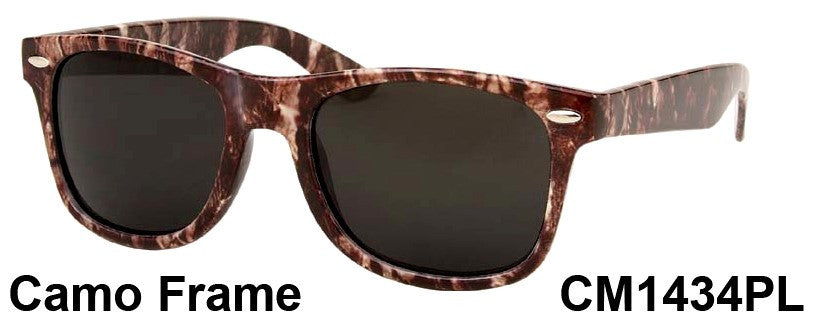 Wholesale Polarized camo Classic Sunglasses-CM1434PL - wholesalesunglasses.net