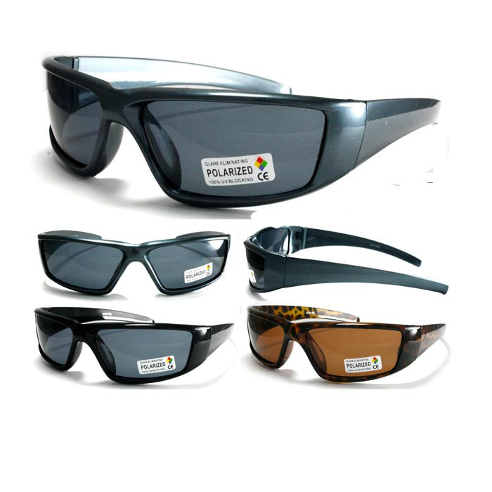 Wholesale Polarized Plastic Sports Sunglasses -LA_b310pol - wholesalesunglasses.net
