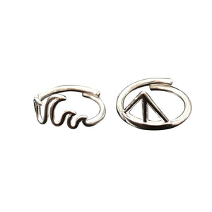 Waverunner Ring Set