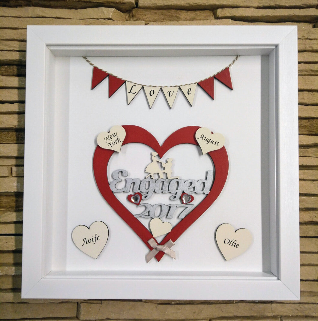 personalised engagement frame 2018 - Engagement Picture Frame
