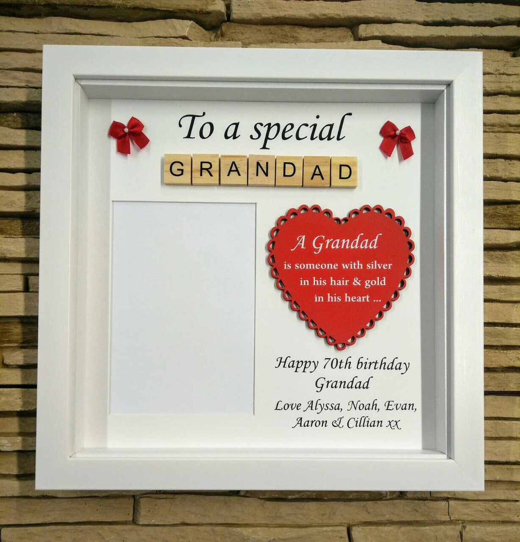 Personalised Godparent/ Grandparent Frames – Life-in-Frames