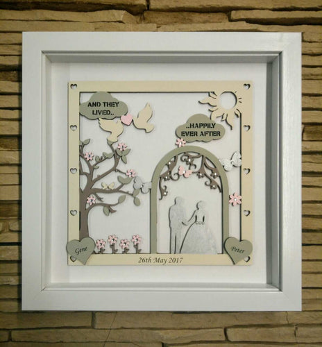 Wedding Day Frame
