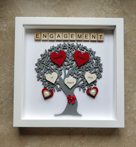 Personalised Engagement  Tree Frame