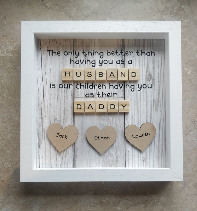 Fathers/Grandfather day frame