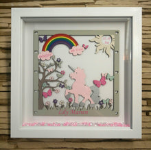 Personalised Unicorn Frame - Birthday