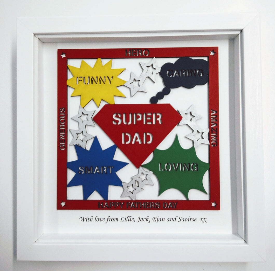 Personalised Fathers Day Frame – Life-in-Frames
