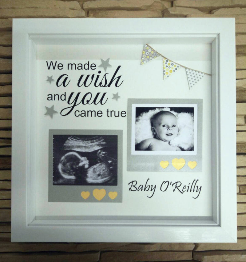 Personalised Scannew Baby Frame Life In Frames