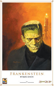 Print - Frankenstein - BY BASIL GOGOS - SOLD OUT