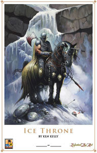 Print - Ice Throne - BY KEN KELLY
