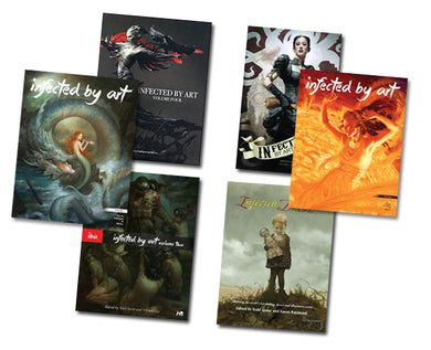 Infected By Art: VOLUMES 1, 2, 3, 4, 5 & 6 Hard Cover Only