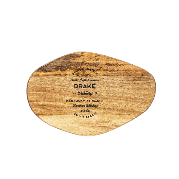 Small Organic Shaped Cutting Board - Whiskey Brand Custom Engraving