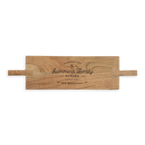 Plateau Serving Board - Family Kitchen Custom Engraving
