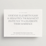 Invitation Card/Envelope - Lucca Collection