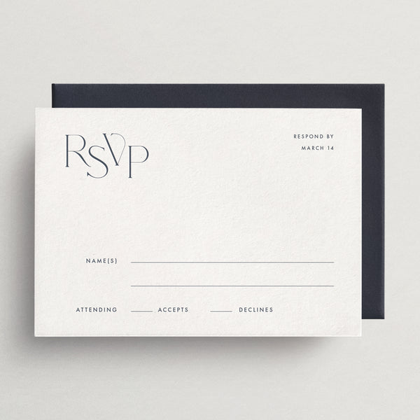 Response Card/Envelope (Basic) - Tivoli Collection