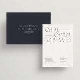Save-the-Date Card/Envelope - Tivoli Collection