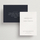 Save-the-Date Card/Envelope - Ithaca Collection