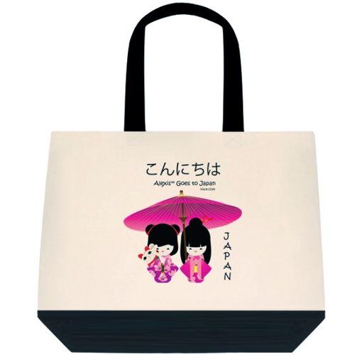 Alexis Goes to Japan Tote Bag
