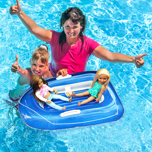 Inflatable Mini Boat--Reduced Shipping!