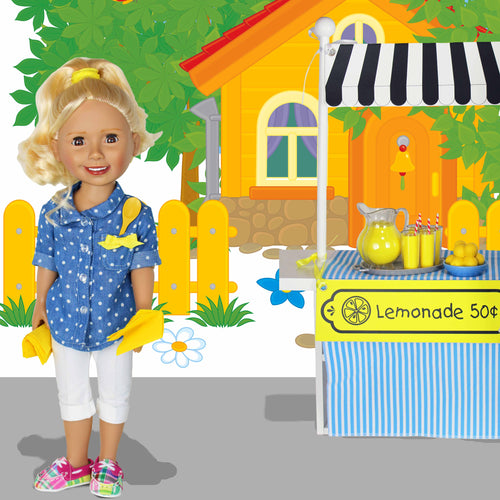 SWEET LEMONADE - Business is Kid Stuff Clothing Learning Activity - Shirt & Pants