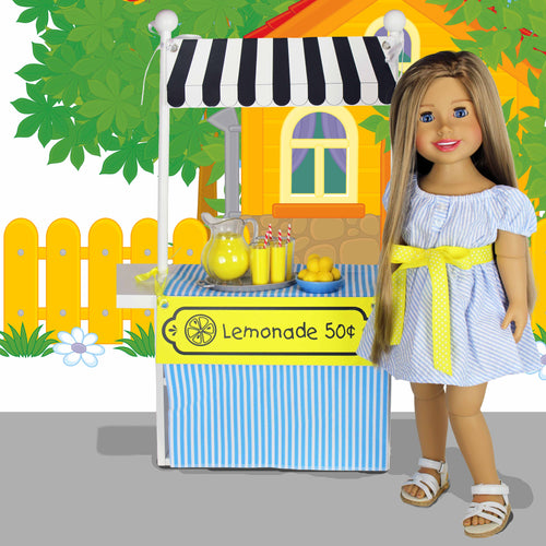 SWEET LEMONADE - Business is Kid Stuff Clothing Learning Activity - Dress