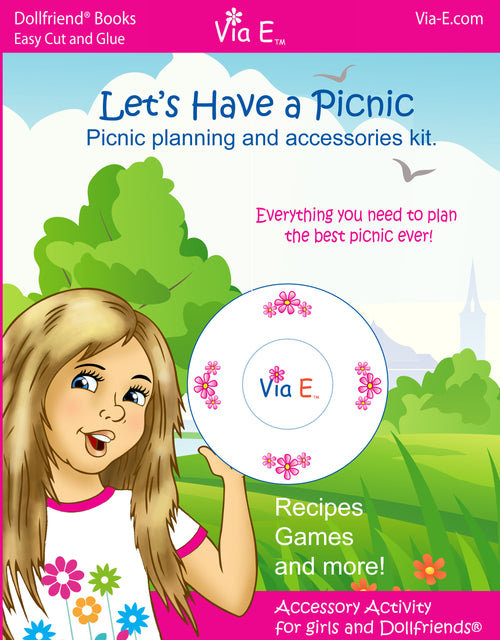 Let's Have a Picnic - Accessory Activity for Girls and Dollfriends(R)