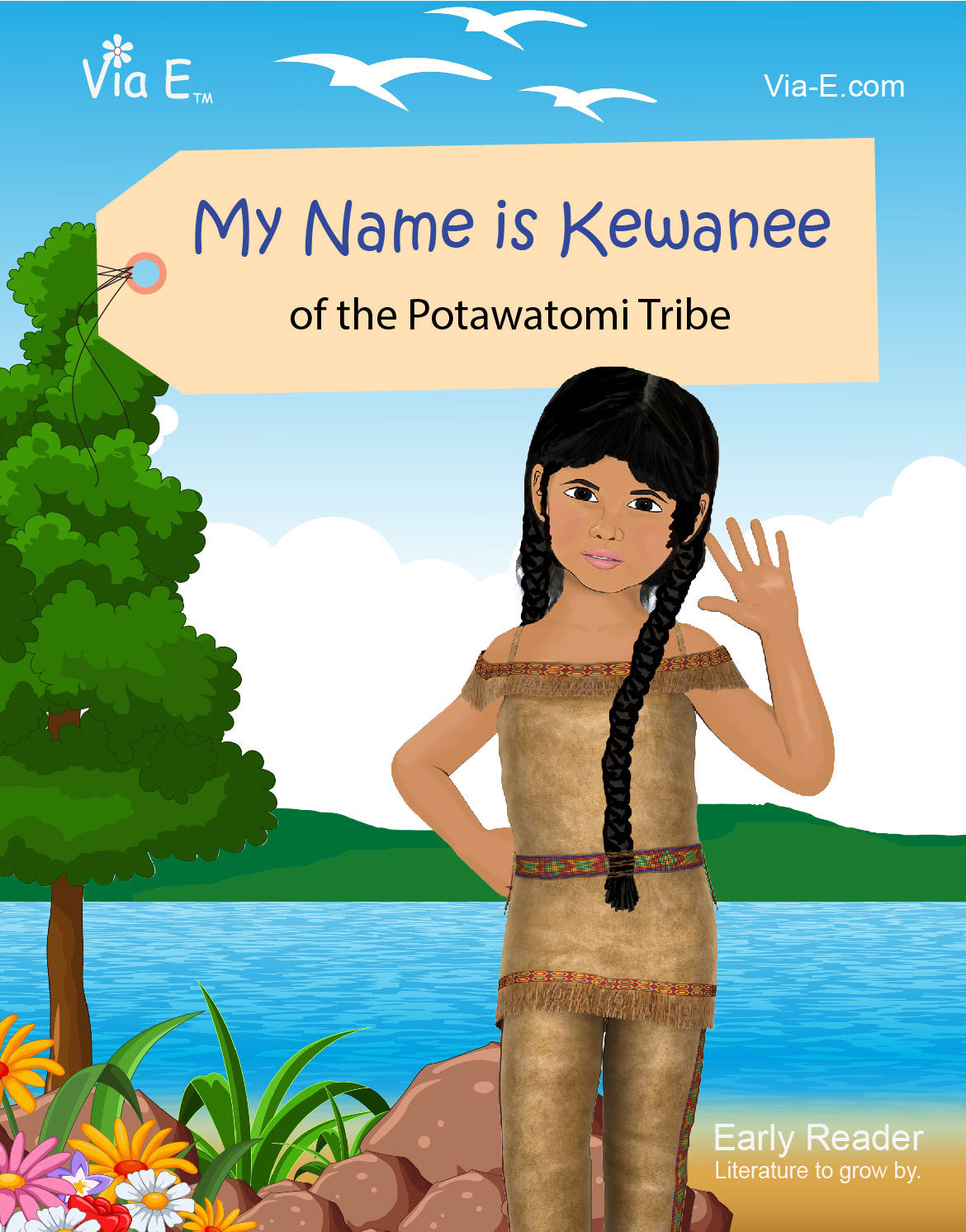 My Name is Kewanee of the Potawatomi Tribe - Let's Go To A Pow Wow