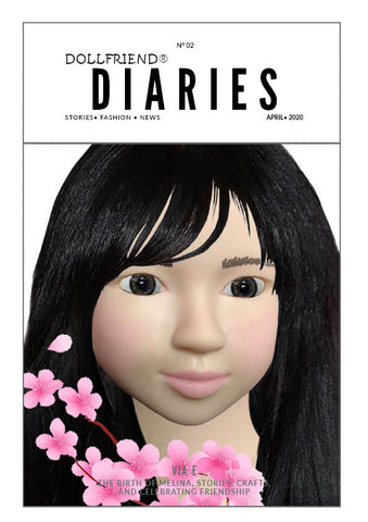 January 2020 Edition of DOLLFRIEND® DIARIES