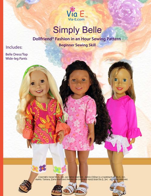 Simply Belle Pattern for Beginners